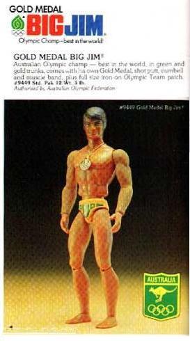 "BIG JIM Gold Medal N° 9449 ""versione australiana"" Aus210"