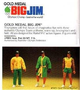 "BIG JIM Gold Medal N° 9449 ""versione australiana"" Aus310"
