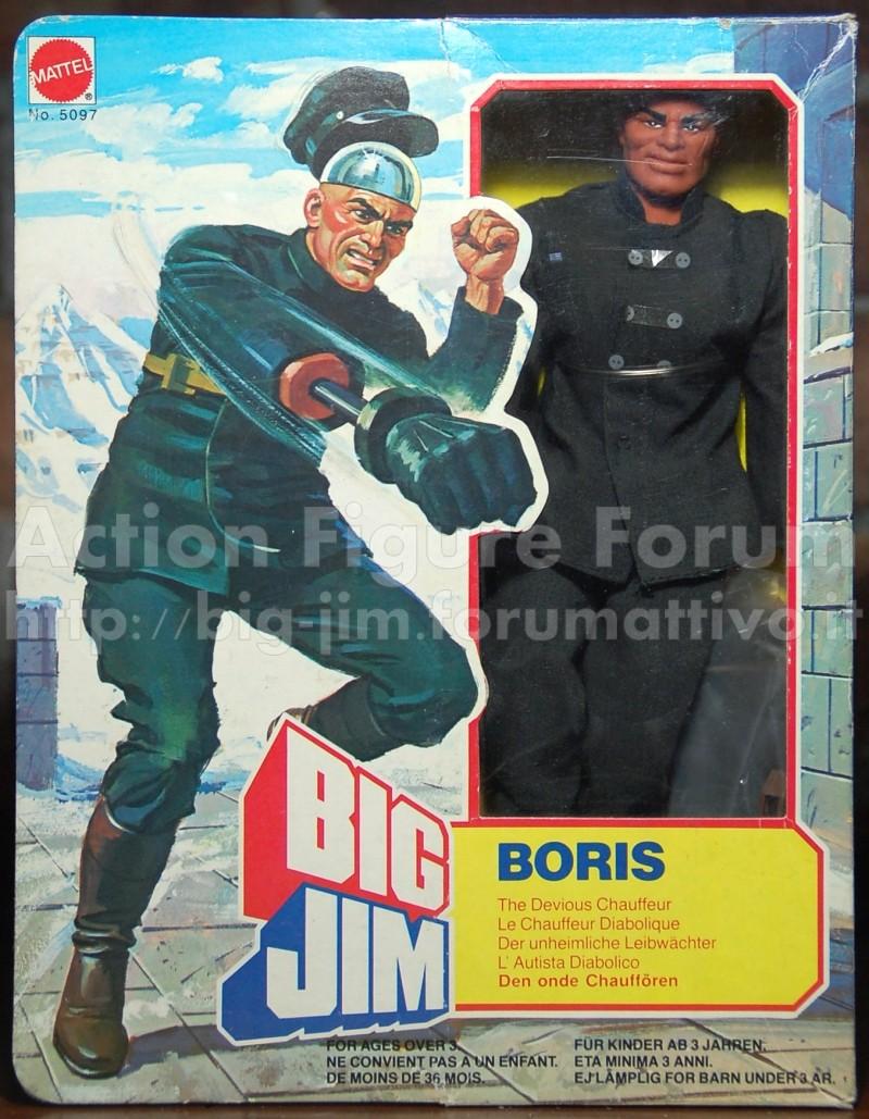 """BORIS n° 5097 """"chrome dome chauffer""""/ L'autista diabolico Boris110"""