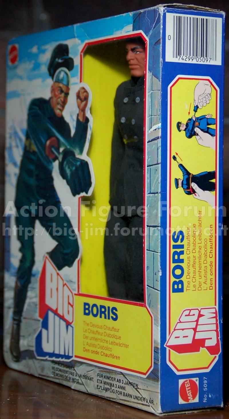 """BORIS n° 5097 """"chrome dome chauffer""""/ L'autista diabolico Boris210"""