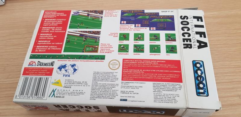 ( VDS) jeux super nintendo en boite  20190116