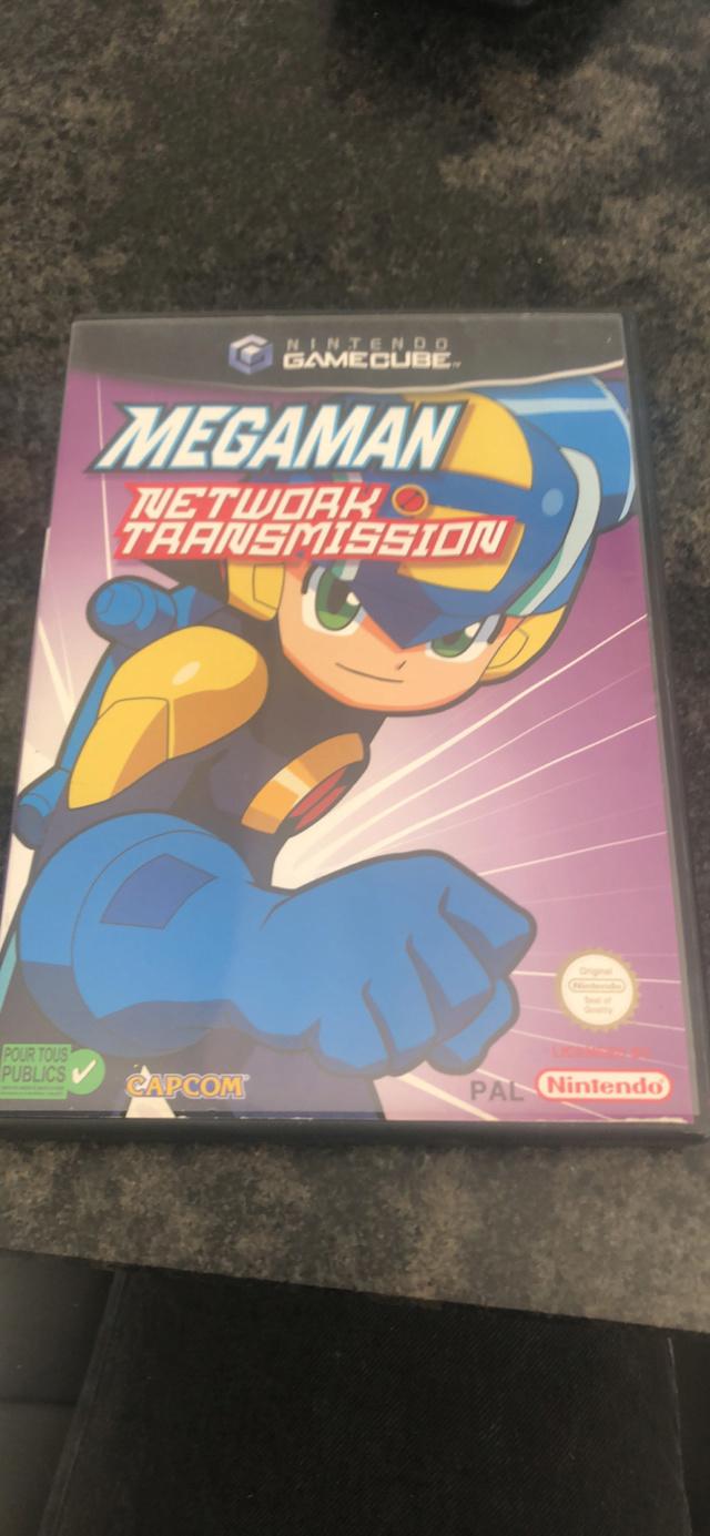 Vds megaman networks transmission gamecube pal  5180a610