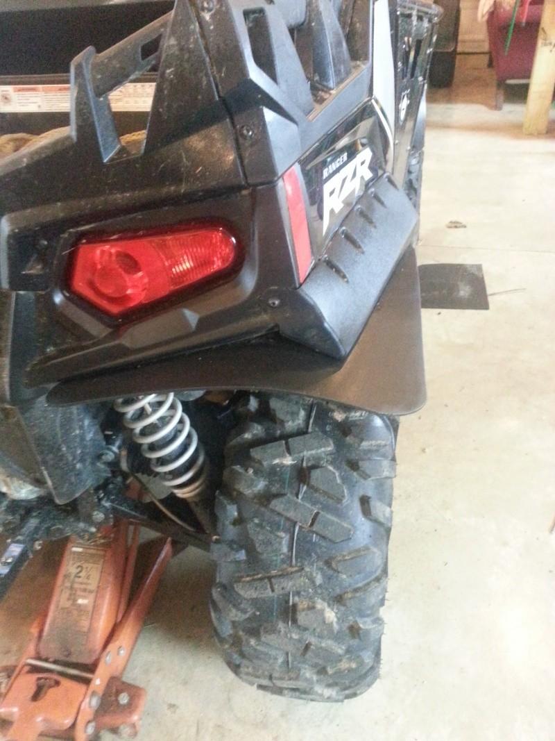 RZR fender extenders Flare310