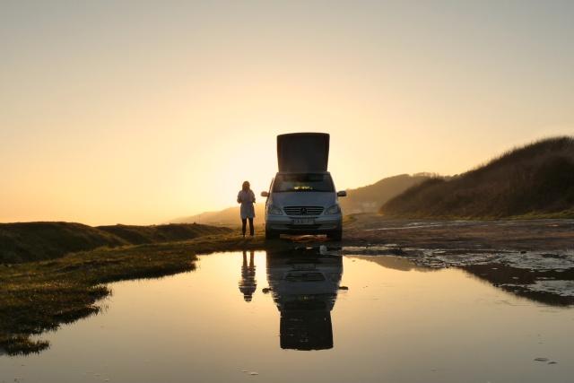 ...seul sur le sable, les pneus dans l'eau, Marco était trop beau... P1120511