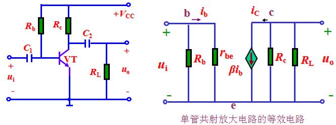 [liklon学模电]单管共射极放大电路 1410