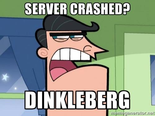 Server crashed? Obhg510