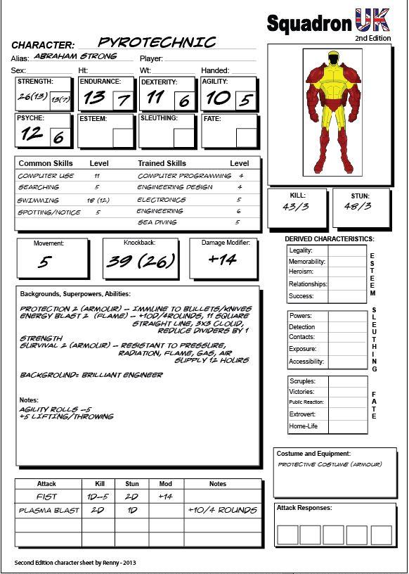 My new character sheet Sheet10