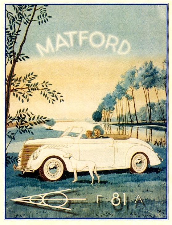 50% française 50% americaine: Matford Matfor12