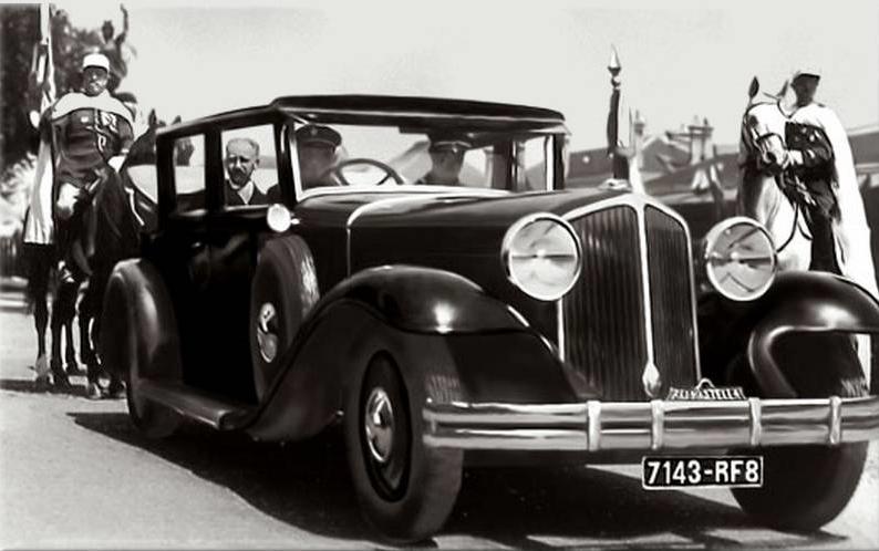 voitures de maréchaux, de generaux, de chefs d'état, de celebrités..... - Page 2 R1237-11