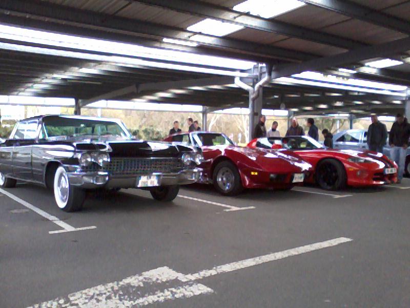 Rencard tous les 1ers dimanche du mois parking leclerc Plougastel toutes marques Photo032