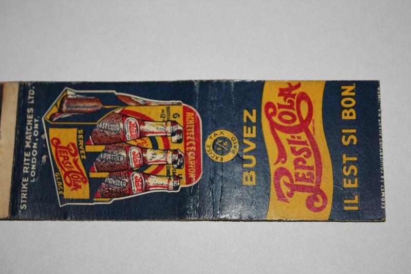 Paquet d'allumettes pepsi-cola Img_8213