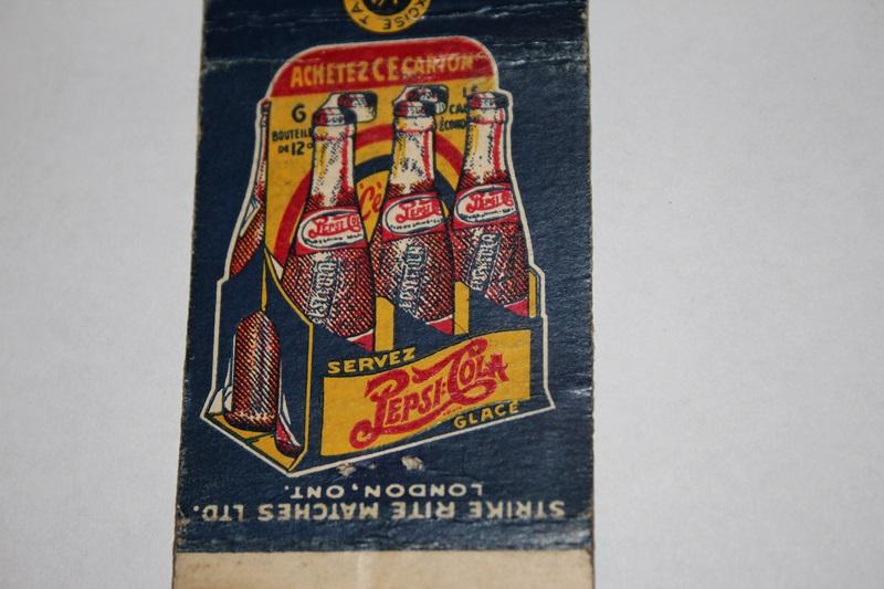 Paquet d'allumettes pepsi-cola Img_8214