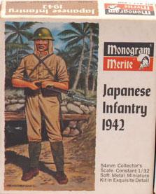 Soldat sudiste marque Monogram 54mm W-mono11