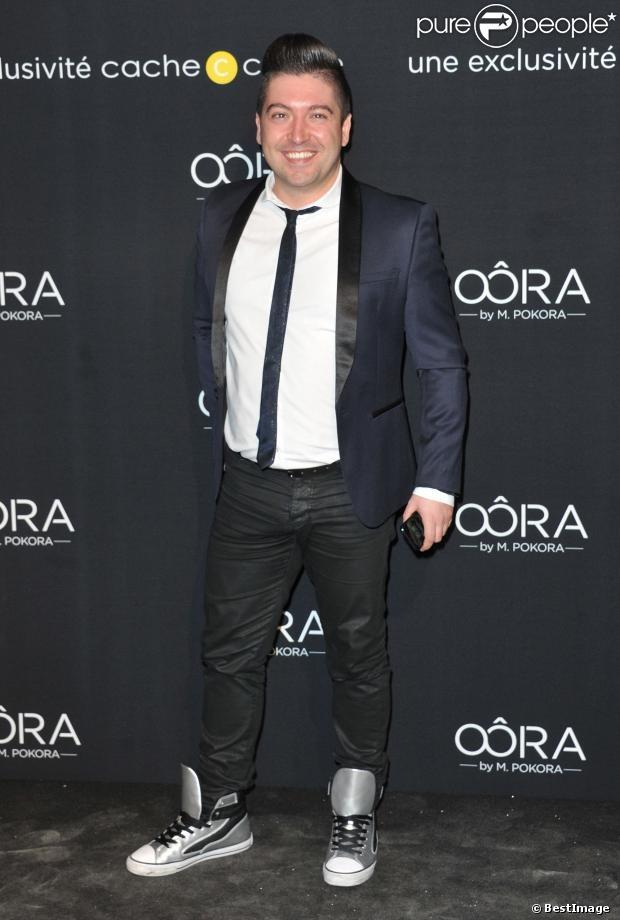 Chris Marques présent à la soirée de lancement OÔRA M. Pokora au Pavillon Gabriel à Paris Image25