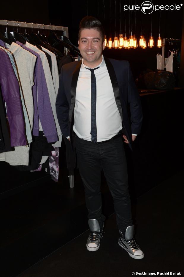 Chris Marques présent à la soirée de lancement OÔRA M. Pokora au Pavillon Gabriel à Paris Image26