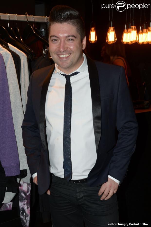Chris Marques présent à la soirée de lancement OÔRA M. Pokora au Pavillon Gabriel à Paris Image27