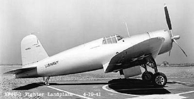 F4U CORSAIR Xf4u-110