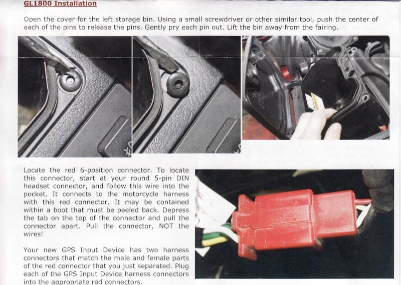 Faisceau audio pour GPS Notice10