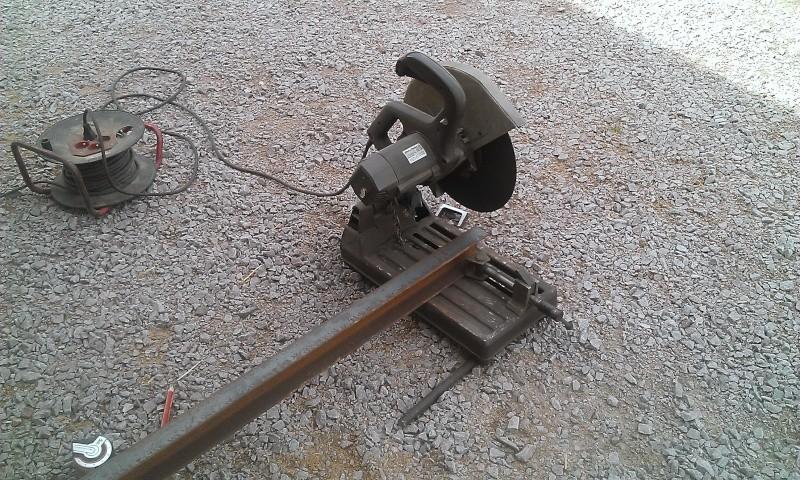 conception et construction presse hydraulique 20T Wp_20110