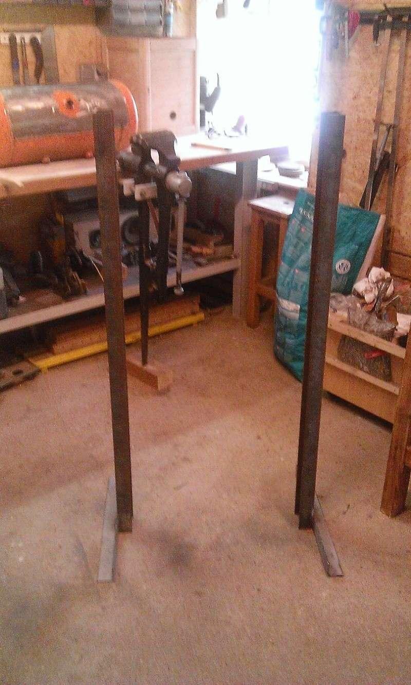 conception et construction presse hydraulique 20T Wp_20111