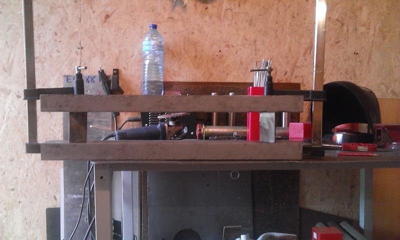 conception et construction presse hydraulique 20T Wp_20113