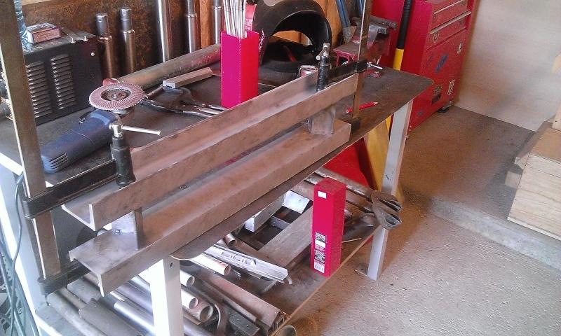 conception et construction presse hydraulique 20T Wp_20114
