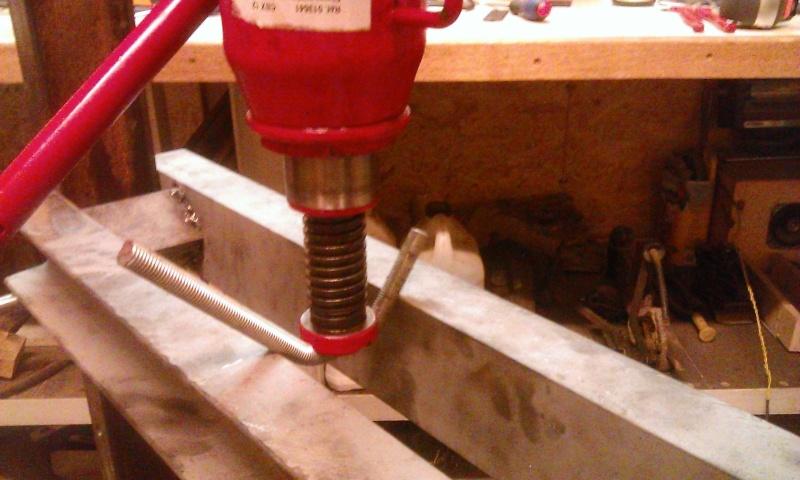 conception et construction presse hydraulique 20T Wp_20119