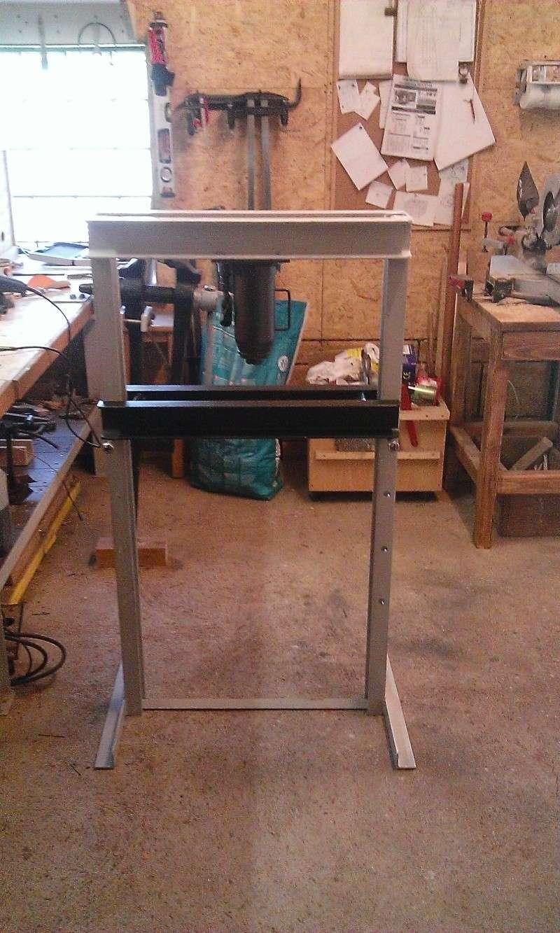 conception et construction presse hydraulique 20T Wp_20122