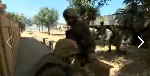 Mali opération Serval:  Pour la première fois depuis longtemps, l'Armée se bat quasiment les mains libres Mali_a10