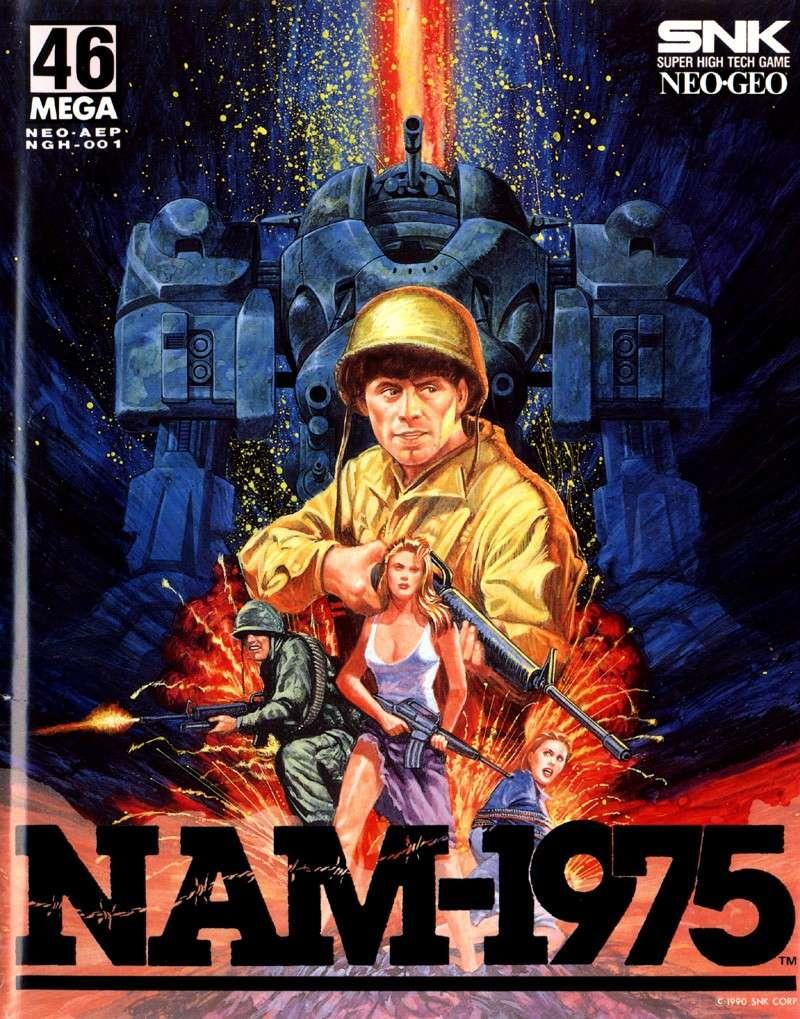 Les plus belles jaquettes du jeu vidéo Nam19710
