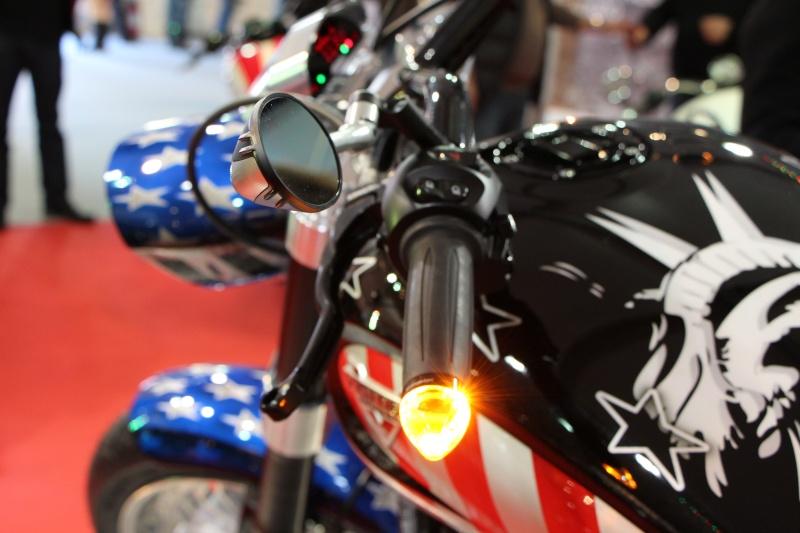 Vu au salon moto Cagnes/Mer 20130315