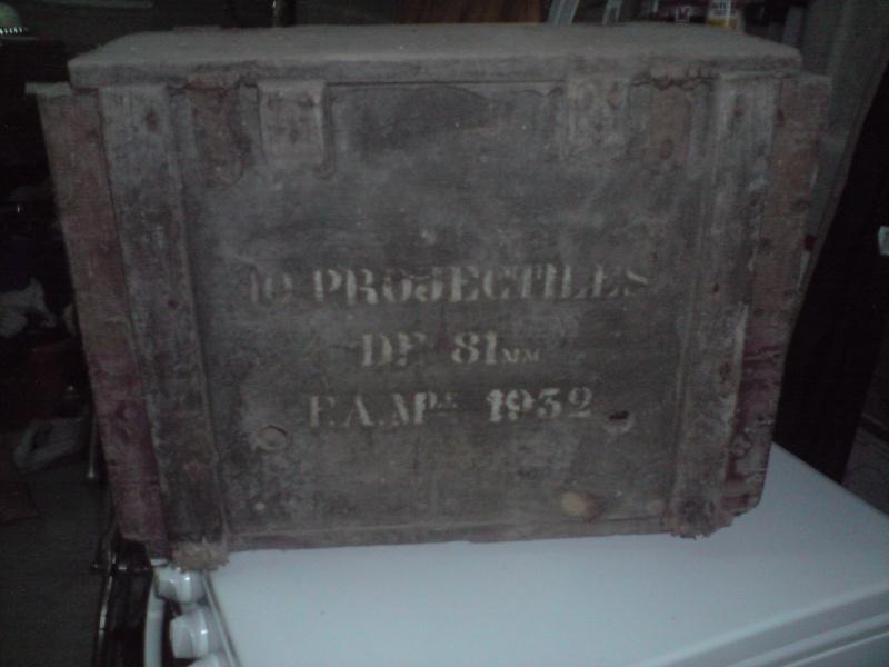Quid de l'armement français (resté en France) durant l'occupation, stocké, utilisé, détruit? - Page 4 Caisse10
