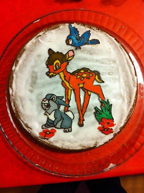 Bambi et ses amis - Page 4 Gateau11