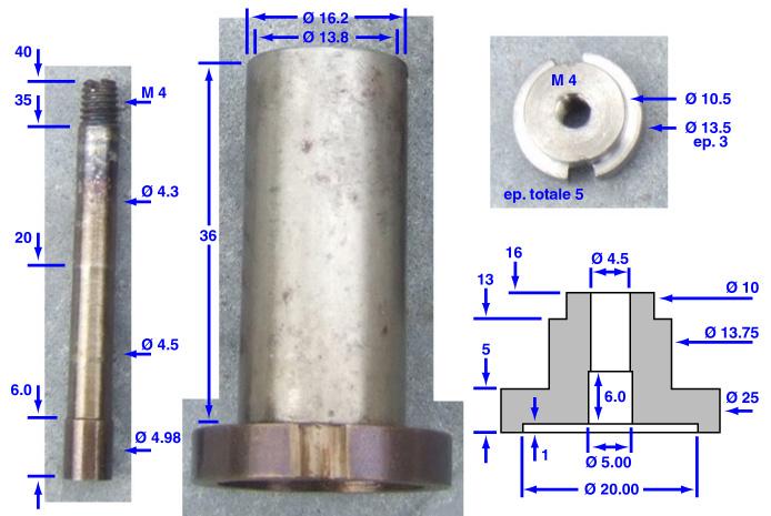 Moule-tube pour calepinage Ejecte11