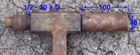 Fabrication d'une machine à copier les crosses (du moins tentative de...) - Page 2 Porte-10