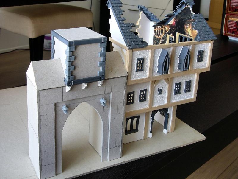 Building Mordheim, Lion Style P1050524