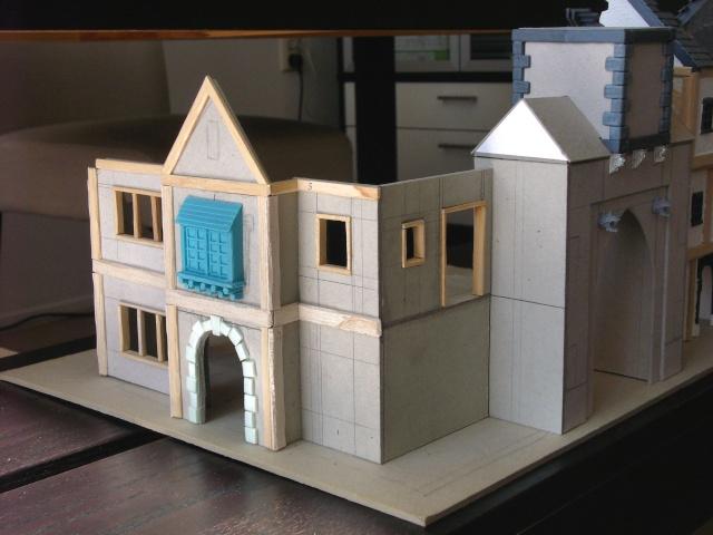 Building Mordheim, Lion Style P1050526