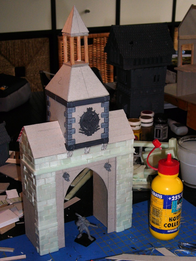 Building Mordheim, Lion Style P1050538
