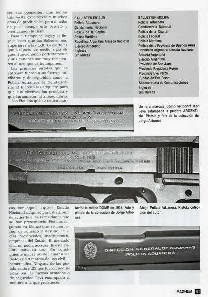 Ballester-Molina : le Colt Argentin au service de Sa Majesté ... - Page 2 Balles10