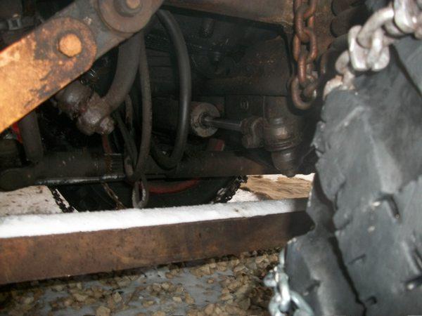 Roues directrices arrières unimog 411 Uni210