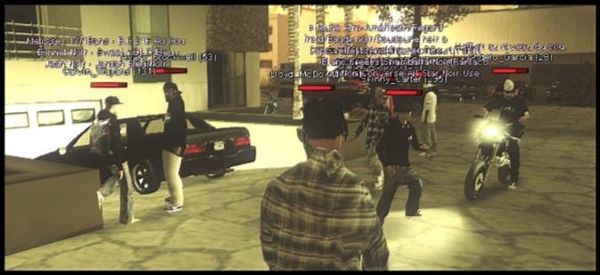 216 Black Criminals - Screenshots & Vidéos II Sa-mp-24