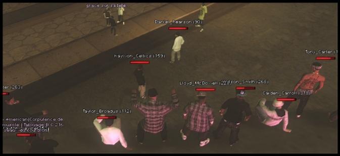 216 Black Criminals - Screenshots & Vidéos II Sa-mp-27