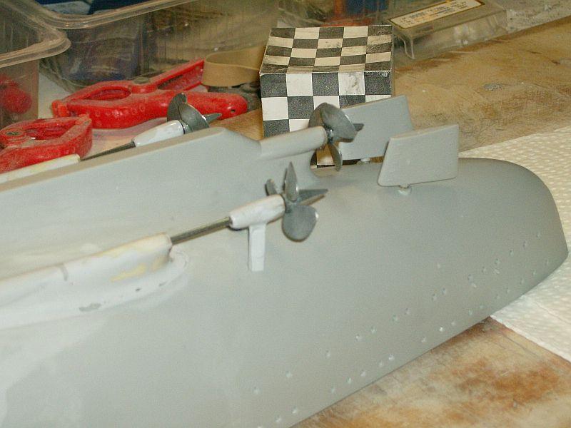 1:200 Bismarck von Trumpeter, nun auch bei mir auf der Werkbank Hpim0616