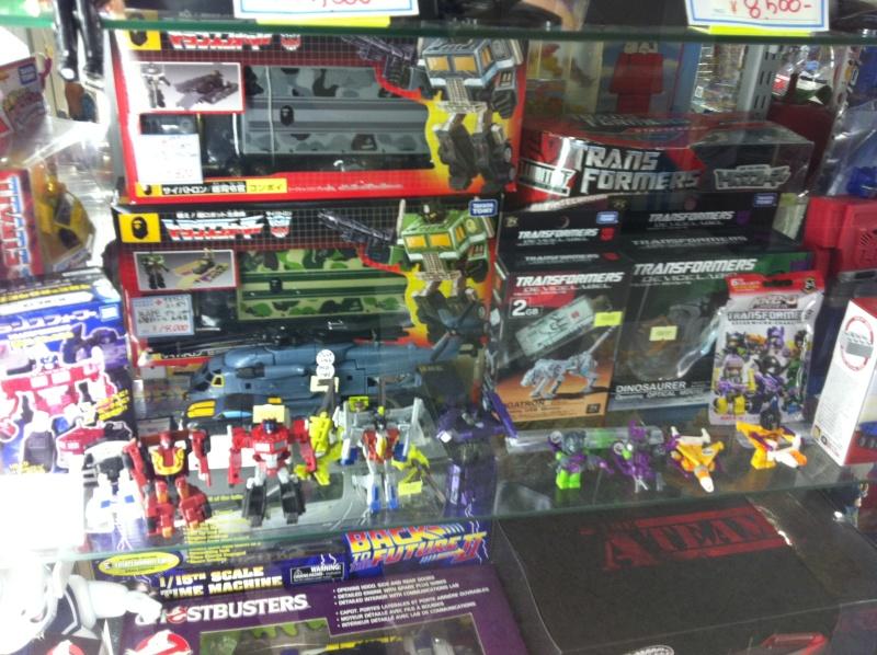 Visite au Japon: Transformers et autres robots - Mandarake, Tokyo Toy Show, Boutiques - etc Img_1011