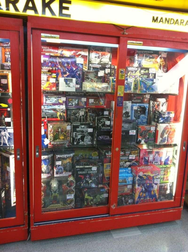 Visite au Japon: Transformers et autres robots - Mandarake, Tokyo Toy Show, Boutiques - etc Img_1012