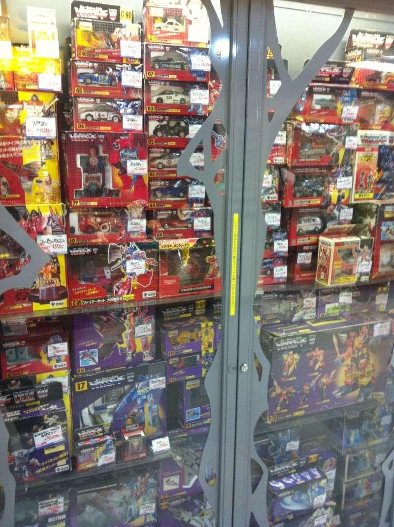 Visite au Japon: Transformers et autres robots - Mandarake, Tokyo Toy Show, Boutiques - etc Img_1013