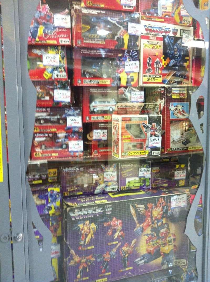 Visite au Japon: Transformers et autres robots - Mandarake, Tokyo Toy Show, Boutiques - etc Img_1017