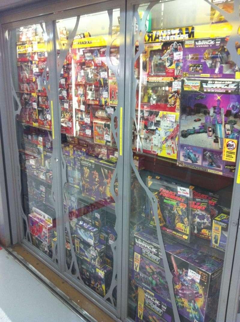 Visite au Japon: Transformers et autres robots - Mandarake, Tokyo Toy Show, Boutiques - etc Img_1018