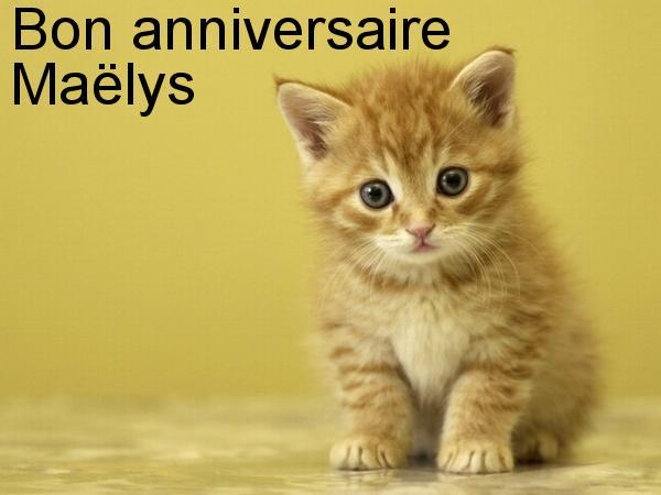 joyeux anniversaire Maelys Carte-10