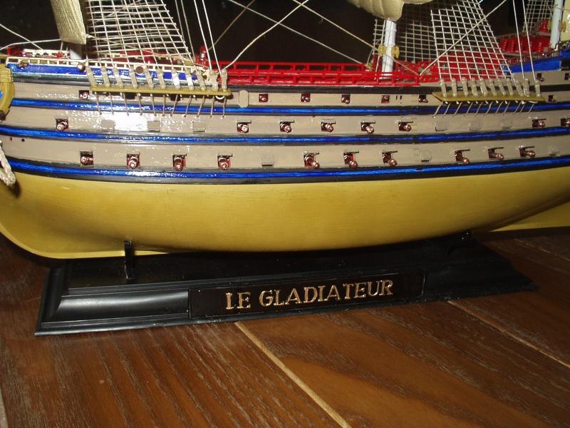Le Gladiateur au 1/80 e Bateau13